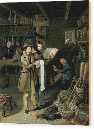 The Long Bill Wood Print by James Henry Beard
