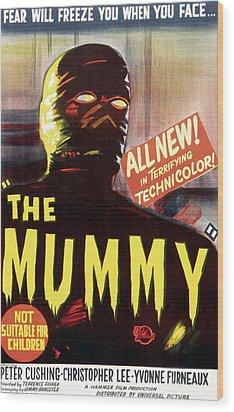 The Mummy, Austrailian One Sheet Wood Print by Everett