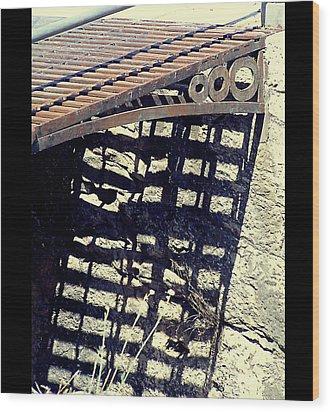 The Old Bridge Wood Print by Guadalupe Nicole Barrionuevo