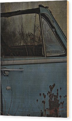 The Passenger  Wood Print by Jerry Cordeiro