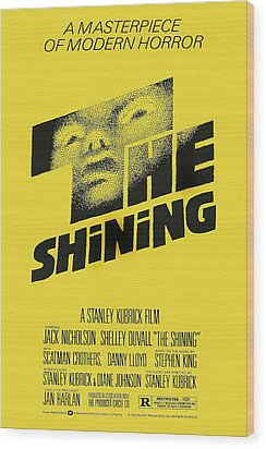 The Shining, Poster Art, 1980 Wood Print by Everett