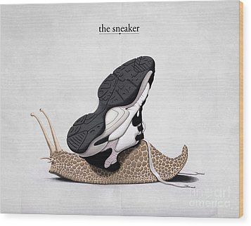 The Sneaker Wood Print by Rob Snow