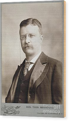 Thedore Roosevelt Wood Print by Granger
