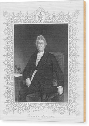 Thomas Clarkson (1760-1846) Wood Print by Granger