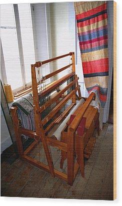 Traditional Weavers Loom Wood Print by LeeAnn McLaneGoetz McLaneGoetzStudioLLCcom