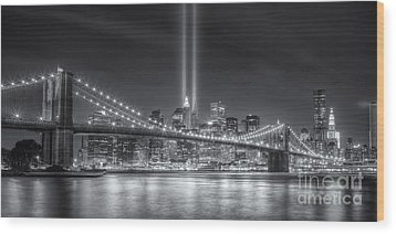Tribute In Light Vi Wood Print by Clarence Holmes