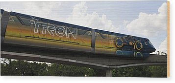 Tron Legacy 2010 Wood Print by David Lee Thompson