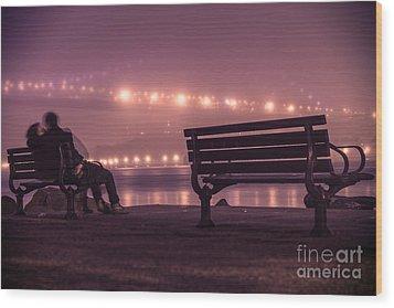 Twilight Romance Wood Print by AHcreatrix