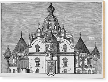 Tycho Brahes Observatory Wood Print by Granger
