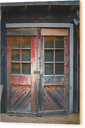 Tyrone Mills 8 Wood Print by Cyryn Fyrcyd
