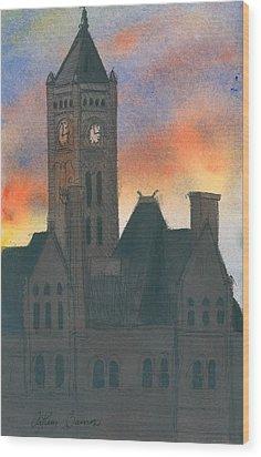 Union Station Wood Print by Arthur Barnes