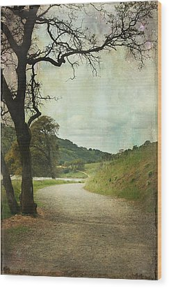 Walk Of Life Wood Print by Laurie Search