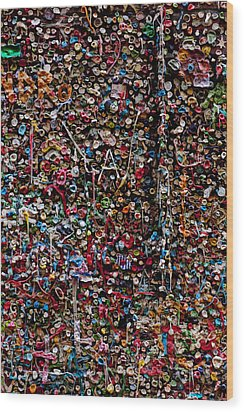 Wall Of Gum Wood Print by Garry Gay