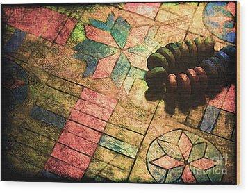 War Games Wood Print by Judi Bagwell