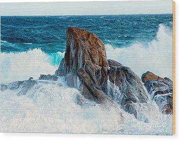 Wash Away II - Colour Wood Print by Hideaki Sakurai