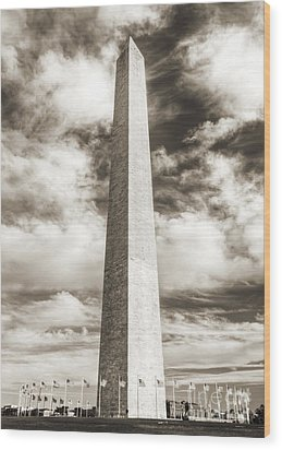 Washington Monument Wood Print by Dustin K Ryan
