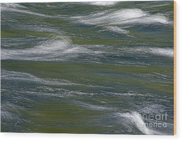 Water Impression 2 Wood Print by Catherine Lau