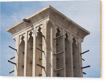 Wind Tower Wood Print by Fabrizio Troiani