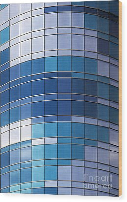 Windows Wood Print by Jane Rix