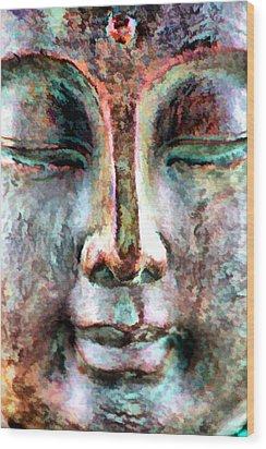 Wisdom Wood Print by Brian Davis