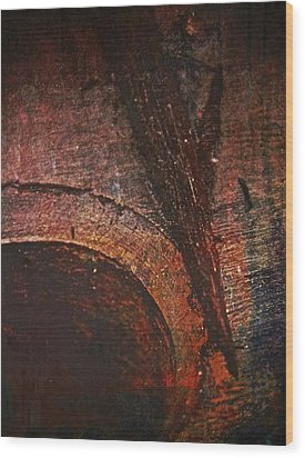 Wood Abstract Wood Print by Odd Jeppesen