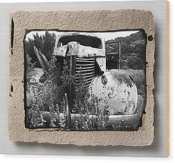 Wreck 1 Wood Print by Mauro Celotti