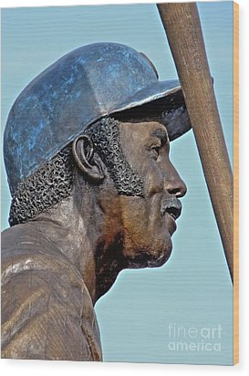 Billy Williams Wood Print by David Bearden