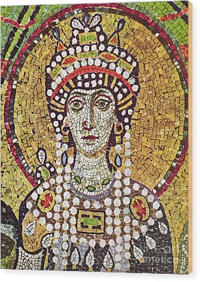 Theodora (c508-548) Wood Print by Granger