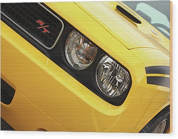 2011 Dodge Challenger Rt Wood Print by Gordon Dean II