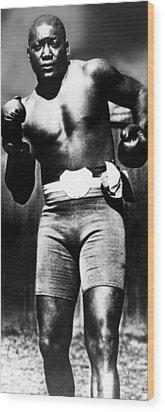 Boxer Jack Johnson, Ca. 1910s Wood Print by Everett