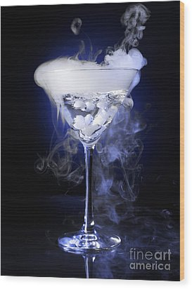 Exotic Drink Wood Print by Oleksiy Maksymenko