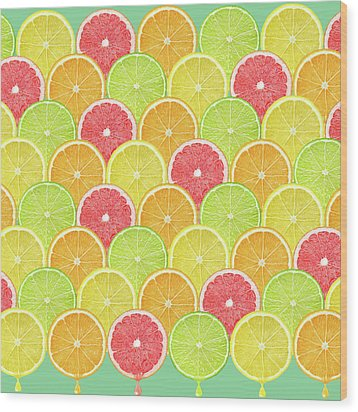 Fresh Fruit  Wood Print by Mark Ashkenazi