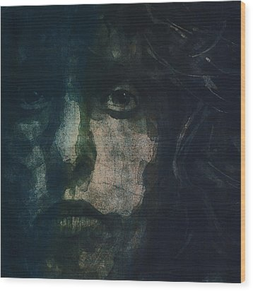 I Can See For Miles Wood Print by Paul Lovering