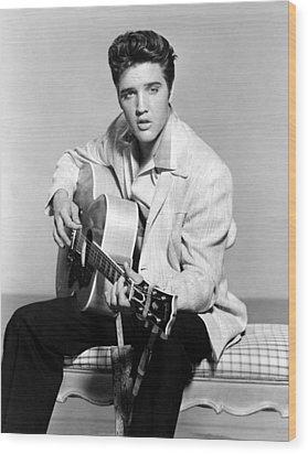 Jailhouse Rock, Elvis Presley, 1957 Wood Print by Everett