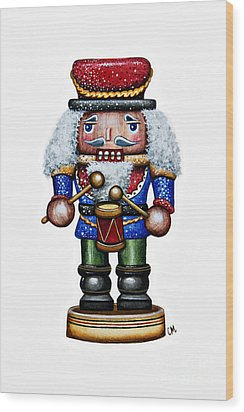 Little Drummer Boy Wood Print by Christina Meeusen