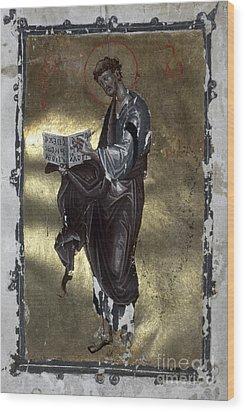 Saint Luke Wood Print by Granger