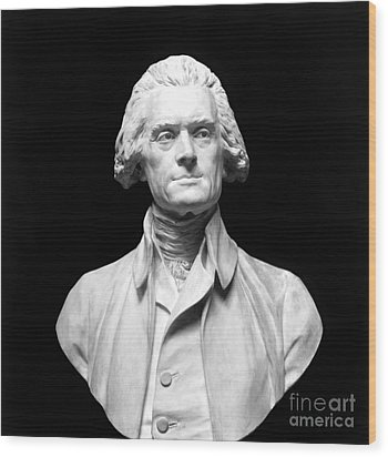 Thomas Jefferson (1743-1826) Wood Print by Granger