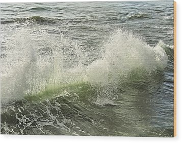 Waves Wood Print by Svetlana Sewell