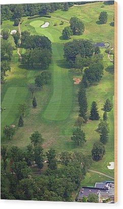10th Hole Sunnybrook Golf Club 398 Stenton Avenue Plymouth Meeting Pa 19462 1243 Wood Print by Duncan Pearson