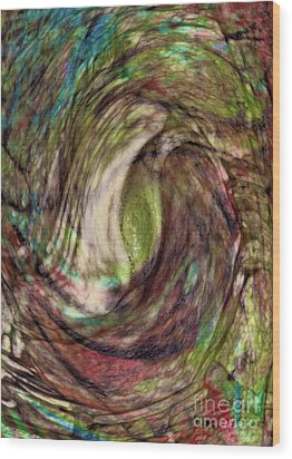 11-03-11 Wood Print by Gwyn Newcombe
