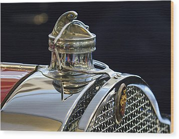 1929 Packard 8 Hood Ornament 3 Wood Print by Jill Reger