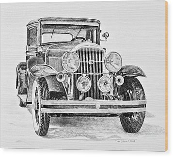 1931 Buick Wood Print by Daniel Storm
