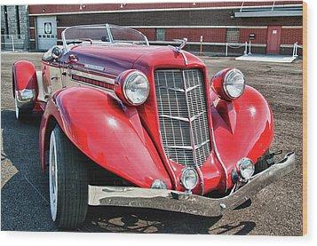 1935 Auburn Speedster 6870 Wood Print by Guy Whiteley