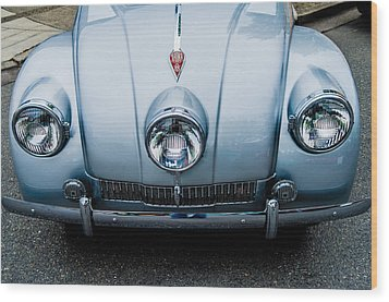 Wood Print featuring the photograph 1947 Tatra T87 by M G Whittingham