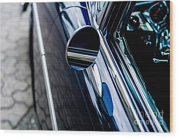 Wood Print featuring the photograph 1950s Chevrolet by M G Whittingham
