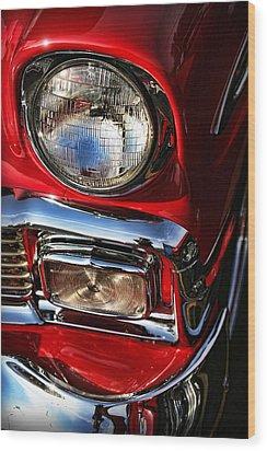 1956 Chevrolet Bel Air Wood Print by Gordon Dean II
