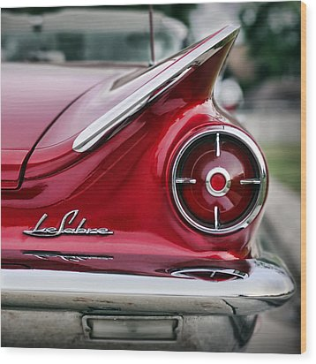 1960 Buick Lesabre Wood Print by Gordon Dean II