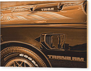 1980 Pontiac Trans Am Wood Print by Gordon Dean II