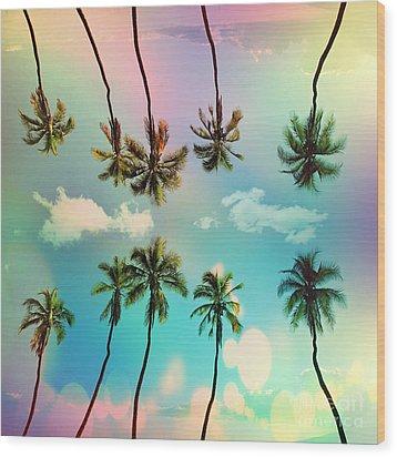 Florida Wood Print by Mark Ashkenazi