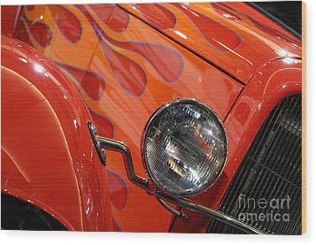 Hot Rod Ford Coupe 1932 Wood Print by Oleksiy Maksymenko